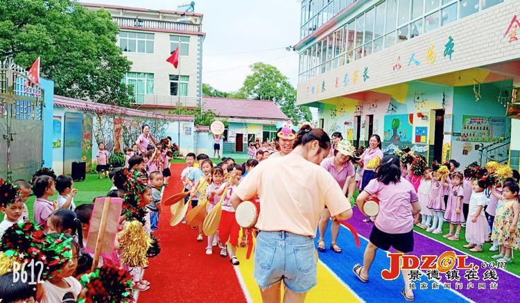 """丽阳镇中心幼儿园开展""""走进端午节""""活动"""