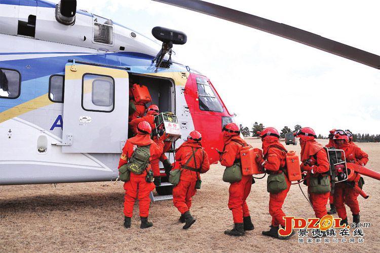 AC313直升机在中蒙边境护林